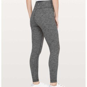 "Lululemon Wunder Under High Rise Tight 28"" Grey 8"